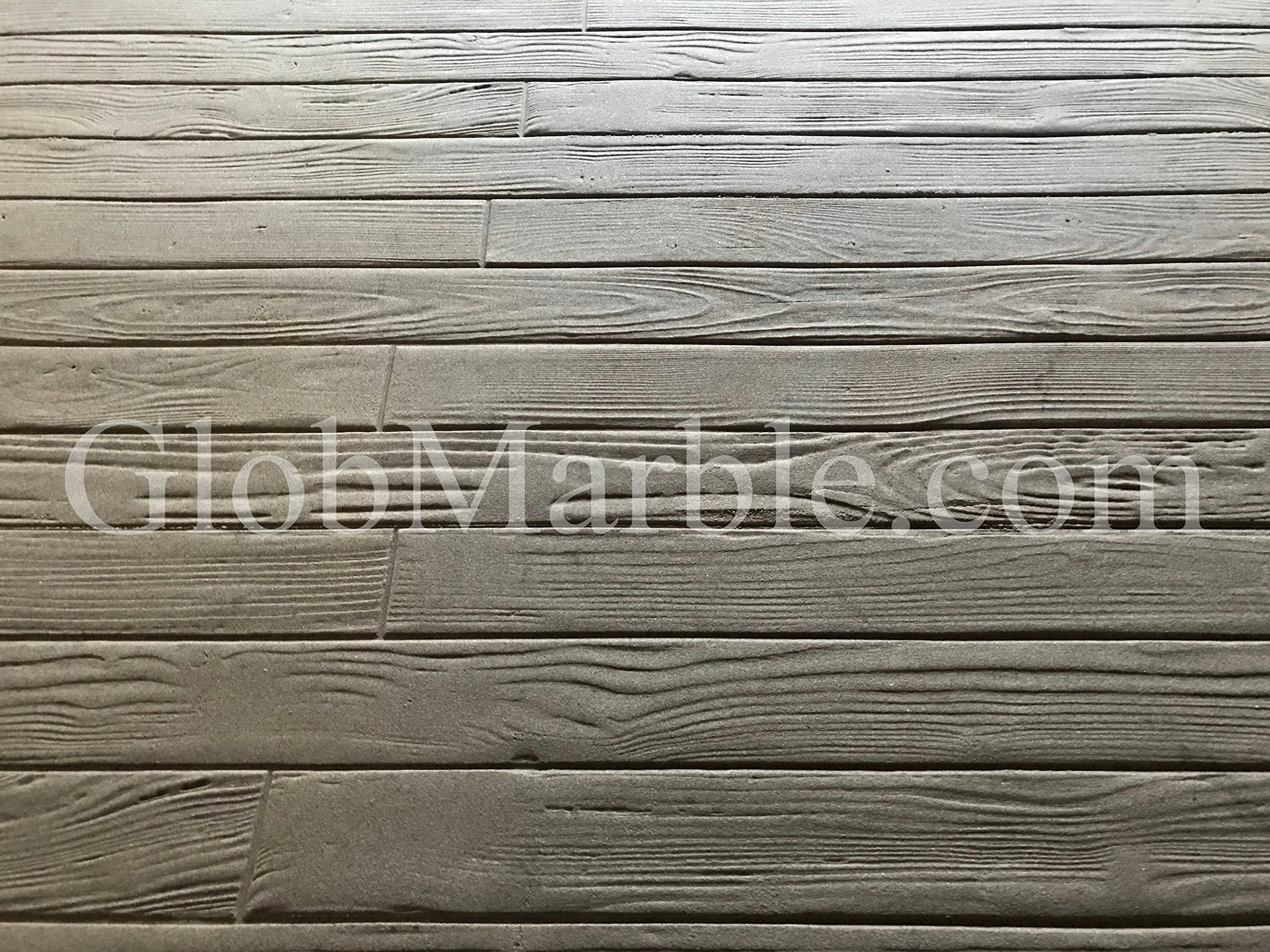 Woodgrain Stamped Concrete. Stamp Mat SM 5200/S. 3 1/2'' Wood Planks