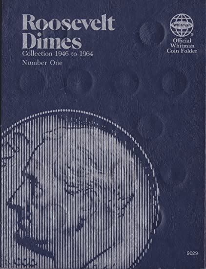 1946 1964 Roosevelt Dime Trifold Whitman No 9029 Coin