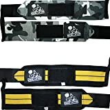 "Nordic Lifting Wrist Wraps (2 Pairs/4 Wraps) 14"" for Weightlifting 
