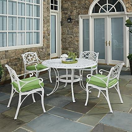 Fine Amazon Com Home Styles 5552 328C Biscayne 5 Piece Dining Home Interior And Landscaping Pimpapssignezvosmurscom