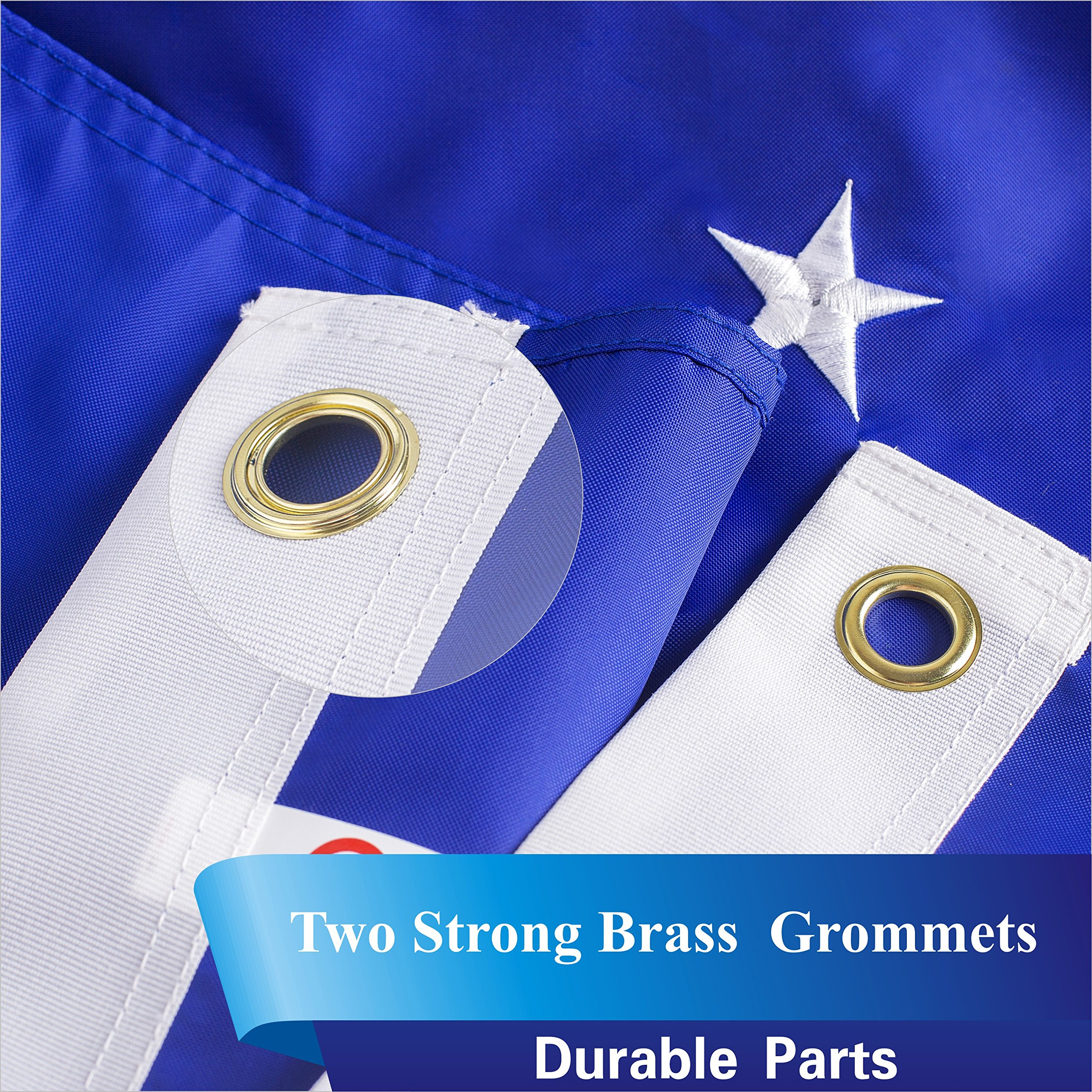 937e8484a66 G128 - US Air Force Flag Double Sided Embroidered 3x5 ft Flag Brass  Grommets   Flags   Patio