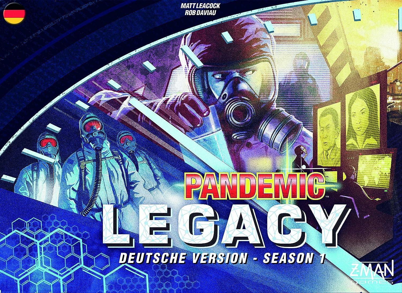 ZMan 691170 – Pandemic Legacy, Tabla de Juegos, Azul: Amazon.es: Juguetes y juegos