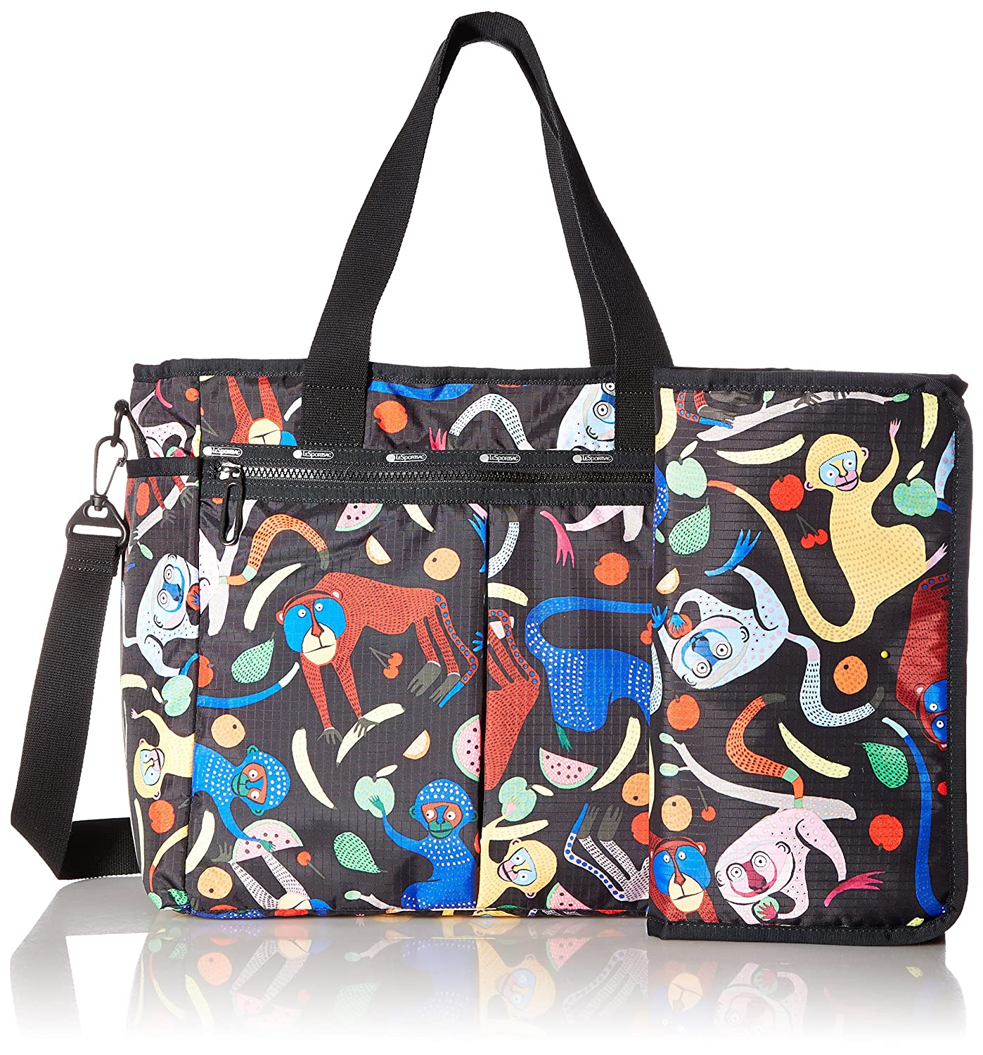 7a5bc70e0 LeSportsac Women's Ryan Baby Tote, Monkey Around B: Amazon.ca: Luggage &  Bags