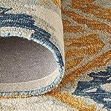 Stone & Beam Modern Global Ikat Wool Area Rug, 5