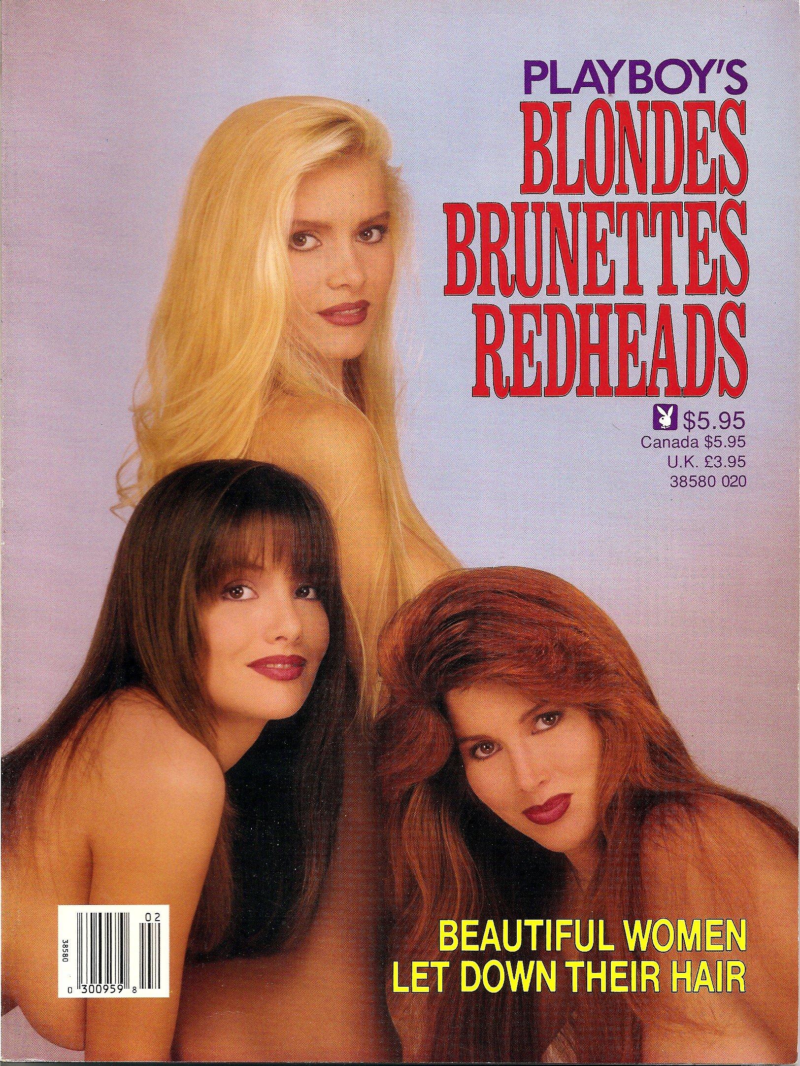 Blonde brunette playboy redhead images 135