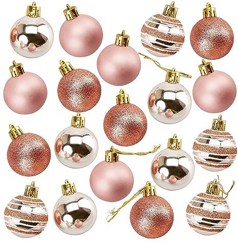 Juvale - Pack de 36 Adornos para árbol de Navidad, diseño de Bolas ...