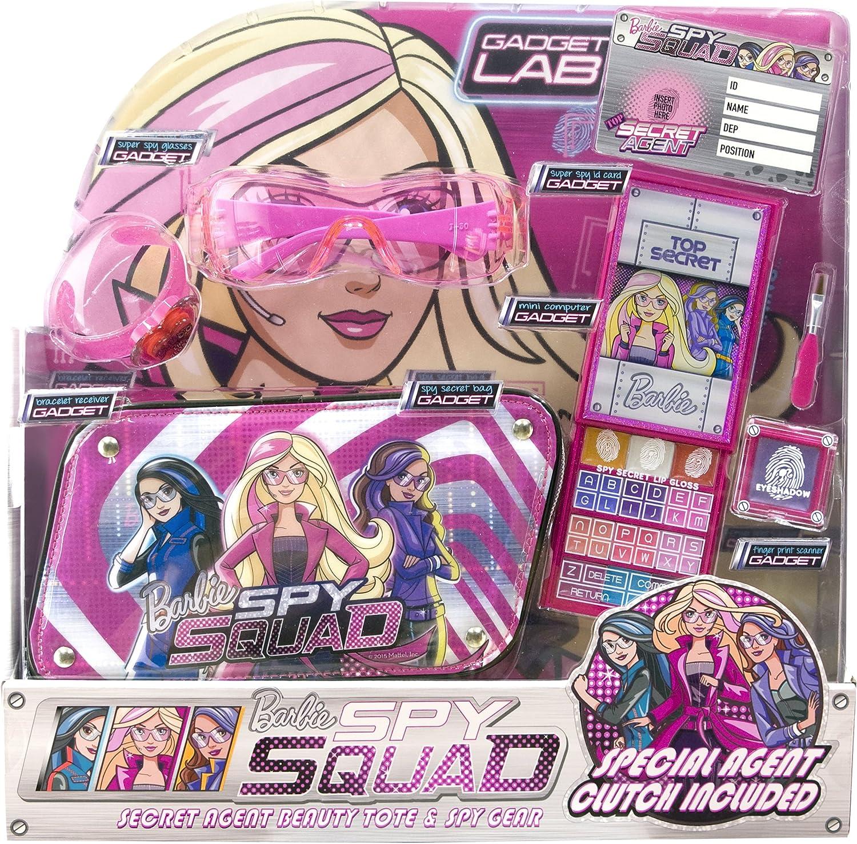 Barbie - Spy Squad Secret Agent Beauty Tote & Spy Gear, pack de maquillaje (Markwins 9602710): Amazon.es: Juguetes y juegos