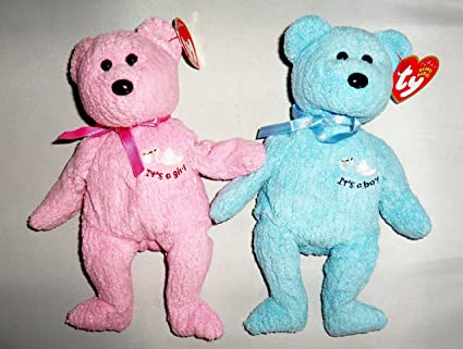fb6e39dbce2 Image Unavailable. Image not available for. Color  Set of 2 Ty Beanie Babies  ...