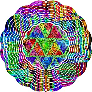 """product image for Next Innovations 101408001-GOODVIBES 101408001-Goodvibes Wind Spinner, 10"""" Diameter, Multicolor"""