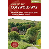 The Cotswold Way: NATIONAL TRAIL Two-way trail guide - Chipping Campden to Bath (UK Long-Distance)