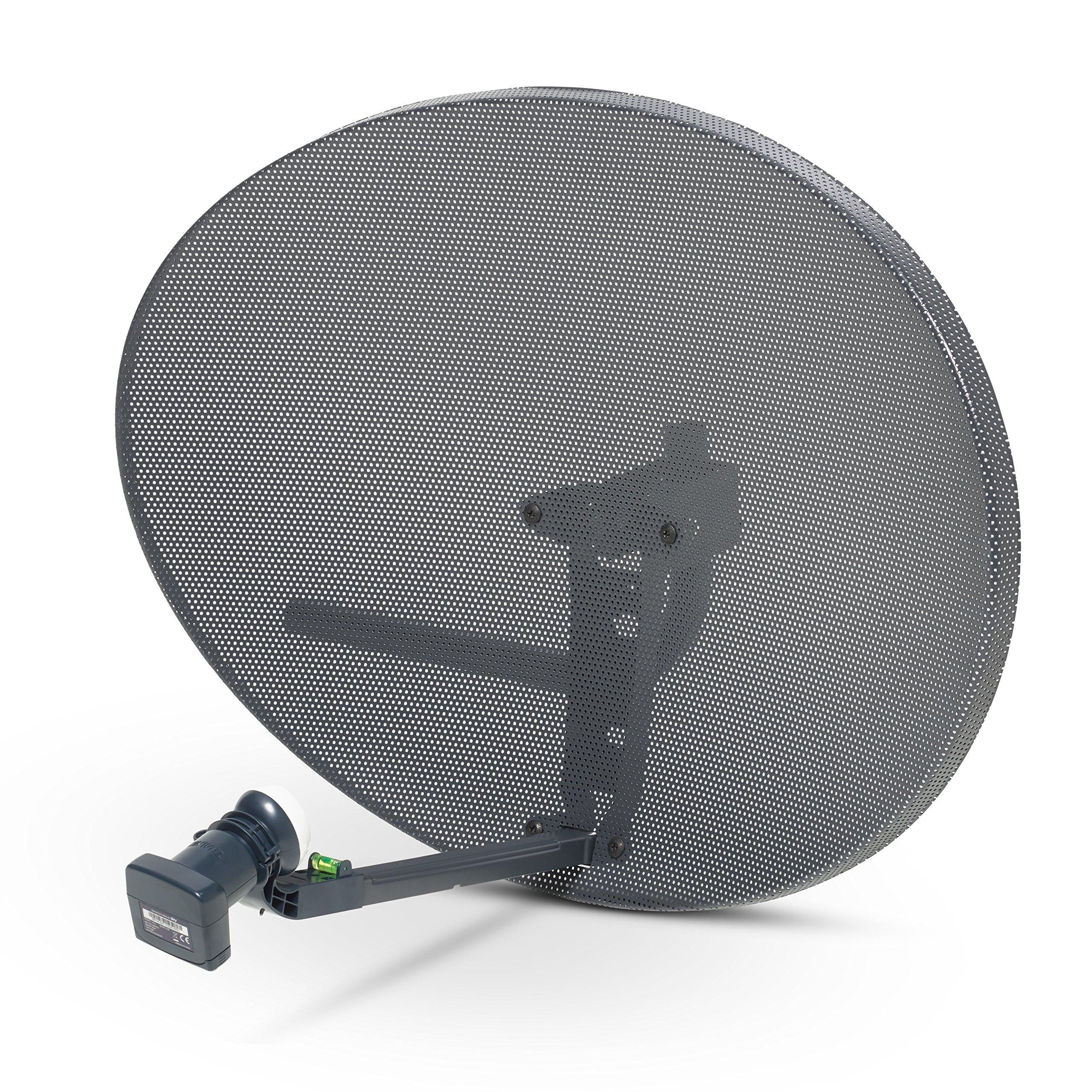 Sky Satellites Zone 2 Satellite Dish Quad Lnb For FreeSat Hotbird Astra Polesat