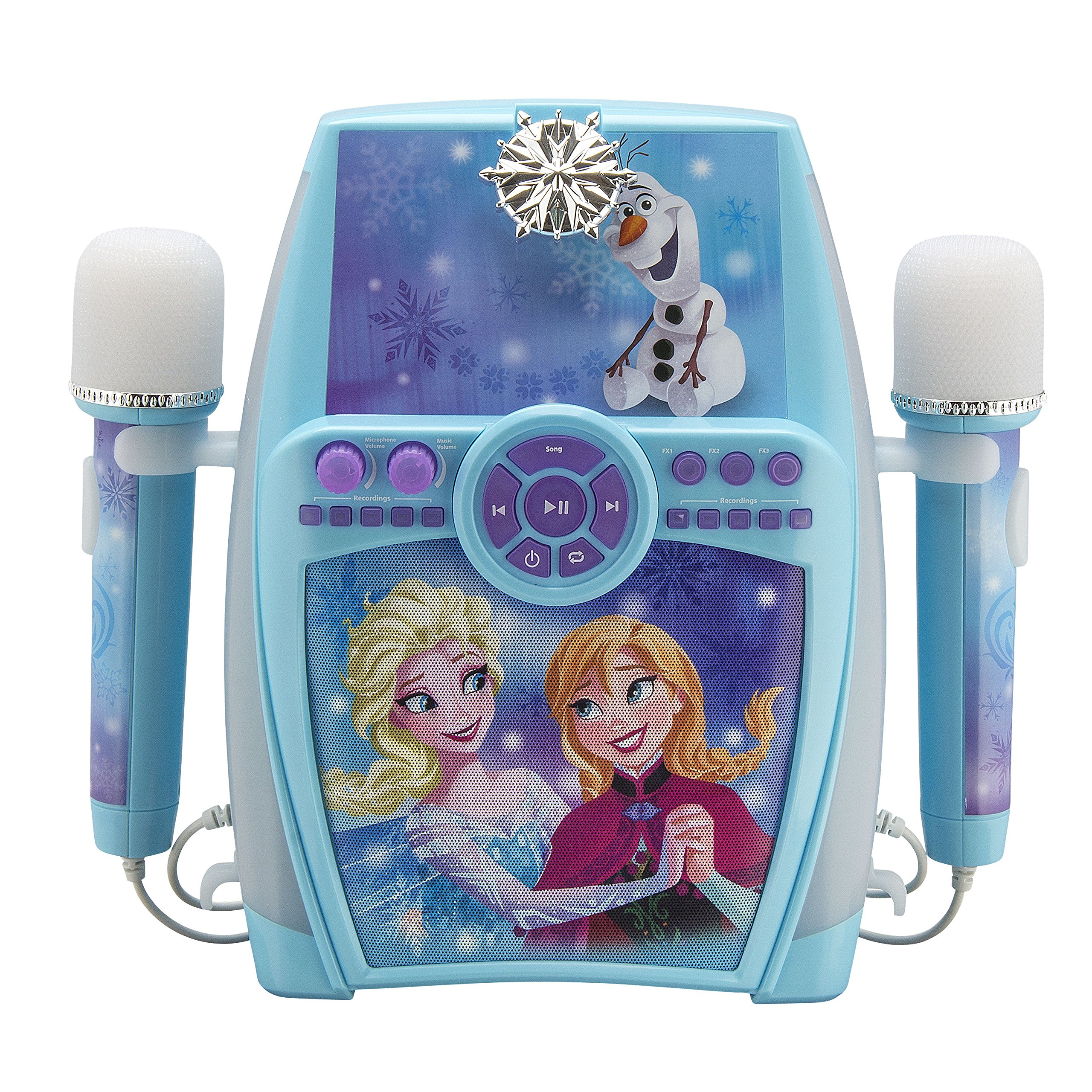Frozen Deluxe Sing Along Boombox with Dual Microphone