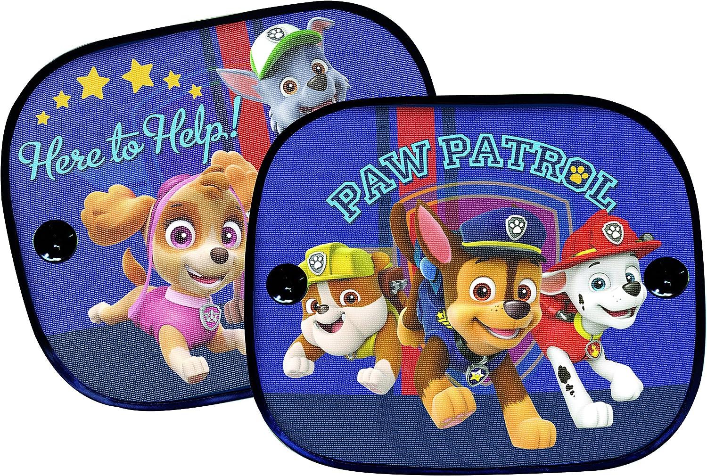 Paw Patrol Pasaa010 Sonnenschutz 2er Set Blau Auto