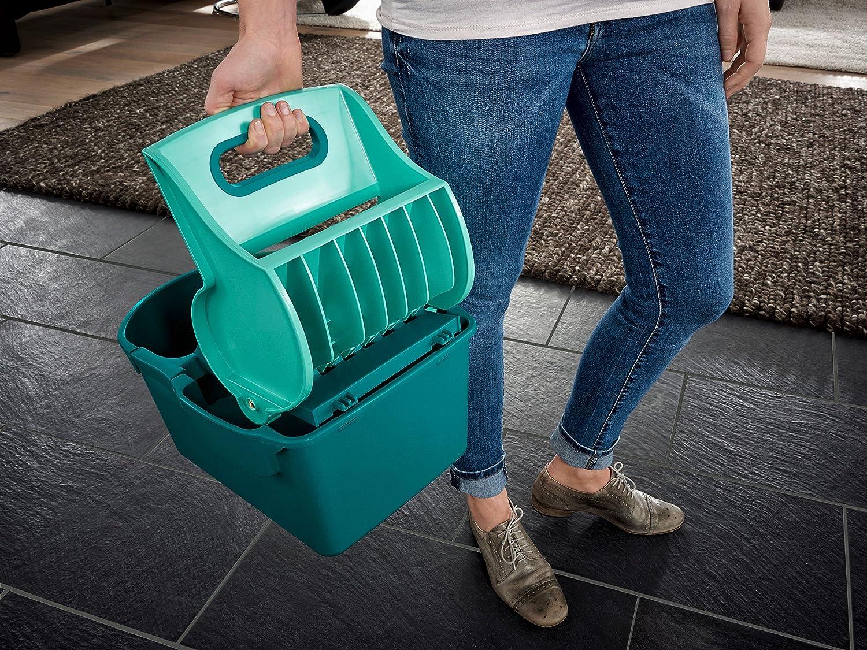 Leifheit 55080 - Cubo de fregona con prensa compacto: Amazon.es: Salud y cuidado personal