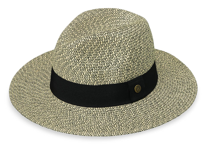 1f3d1aad Amazon.com: Wallaroo Womens Josie Sun Hat - Lightweight and Breathable Sun  Hat - UPF 50+ (Mixed Black): Home & Kitchen