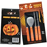 Amazon Price History for:Professional Pumpkin Carving Kit - Heavy Duty Stainless Steel Tool Set