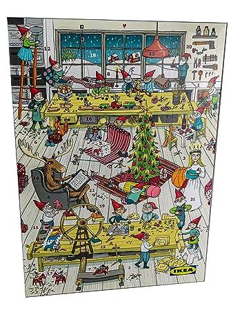 Ikea Adventskalender 2018 Gefüllt Mit Schokolade Und Inkl 2 Ikea