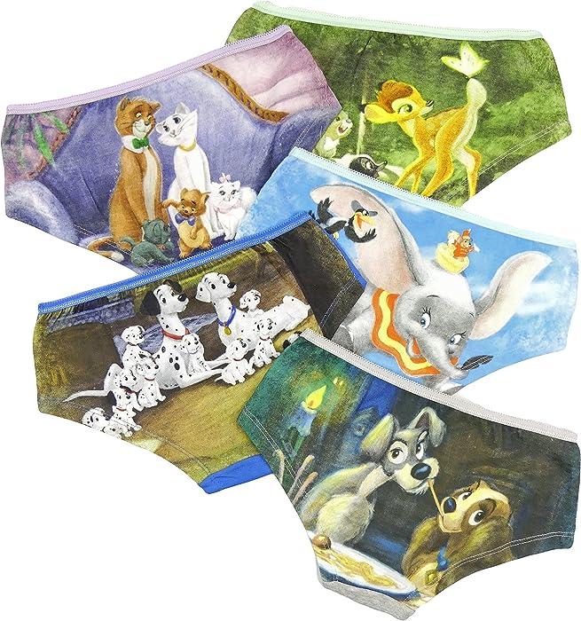 a2b9768b2 Older Girl Underwear Hipster Short Brief Knicker Disney Film Characters