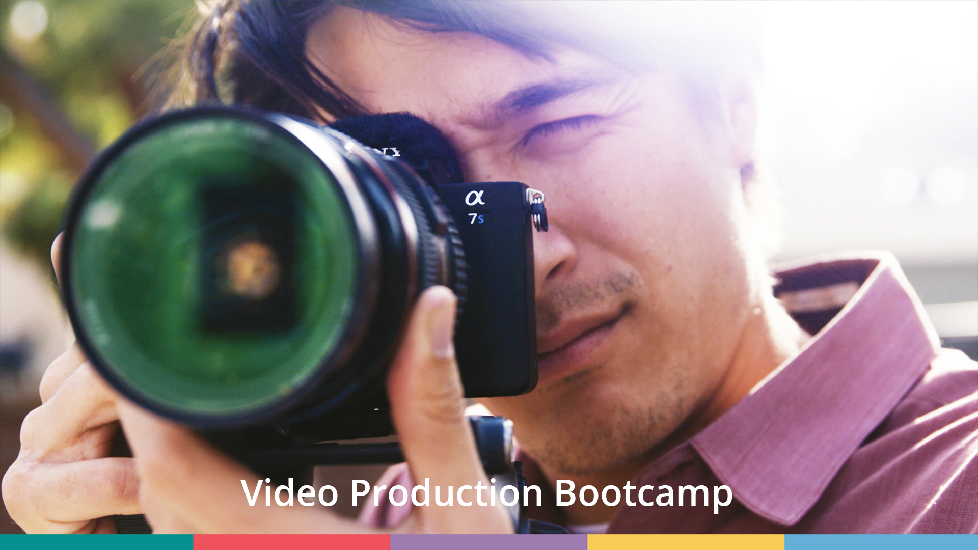 Video Production Bootcamp (online video course) [Online Code] by Video School Online