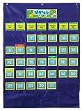 Amazon Price History for:Carson Dellosa Deluxe Calendar Pocket Chart (158156)