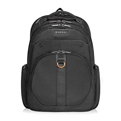 Everki EKP121S15 Atlas Checkpoint Friendly Laptop Backpack, 11-Inch to  15 6-Inch Adaptable Compartment, Black