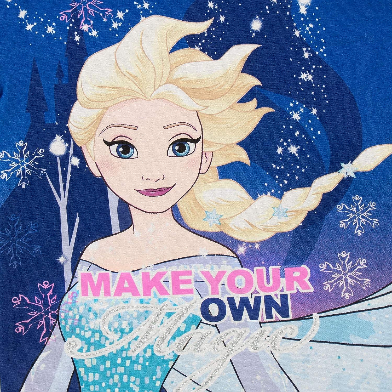 Die Eisk/önigin Schlafanzug Disney M/ädchen Frozen