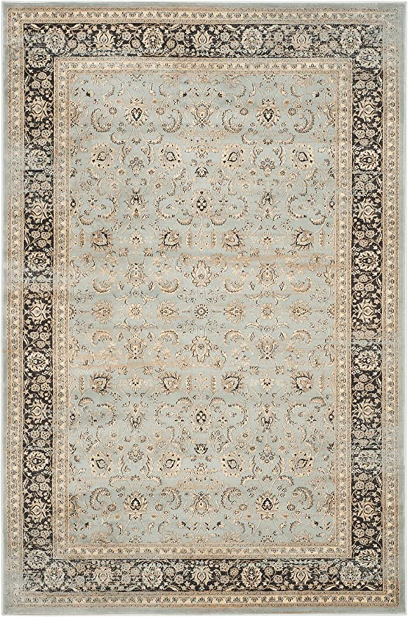 Safavieh Vintage Collection Vtg571h Oriental Traditional Distressed Area Rug 6 7 X 9 2 Light Blue Black Furniture Decor