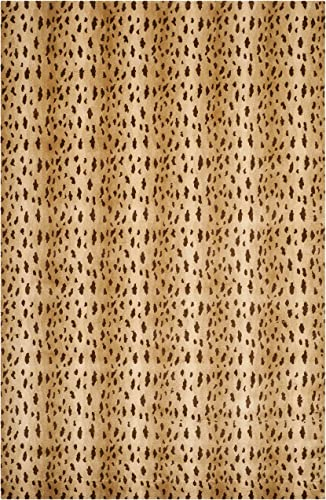 Safavieh Tibetan Collection TB250B Hand-Knotted Beige Wool Area Rug 9 x 12