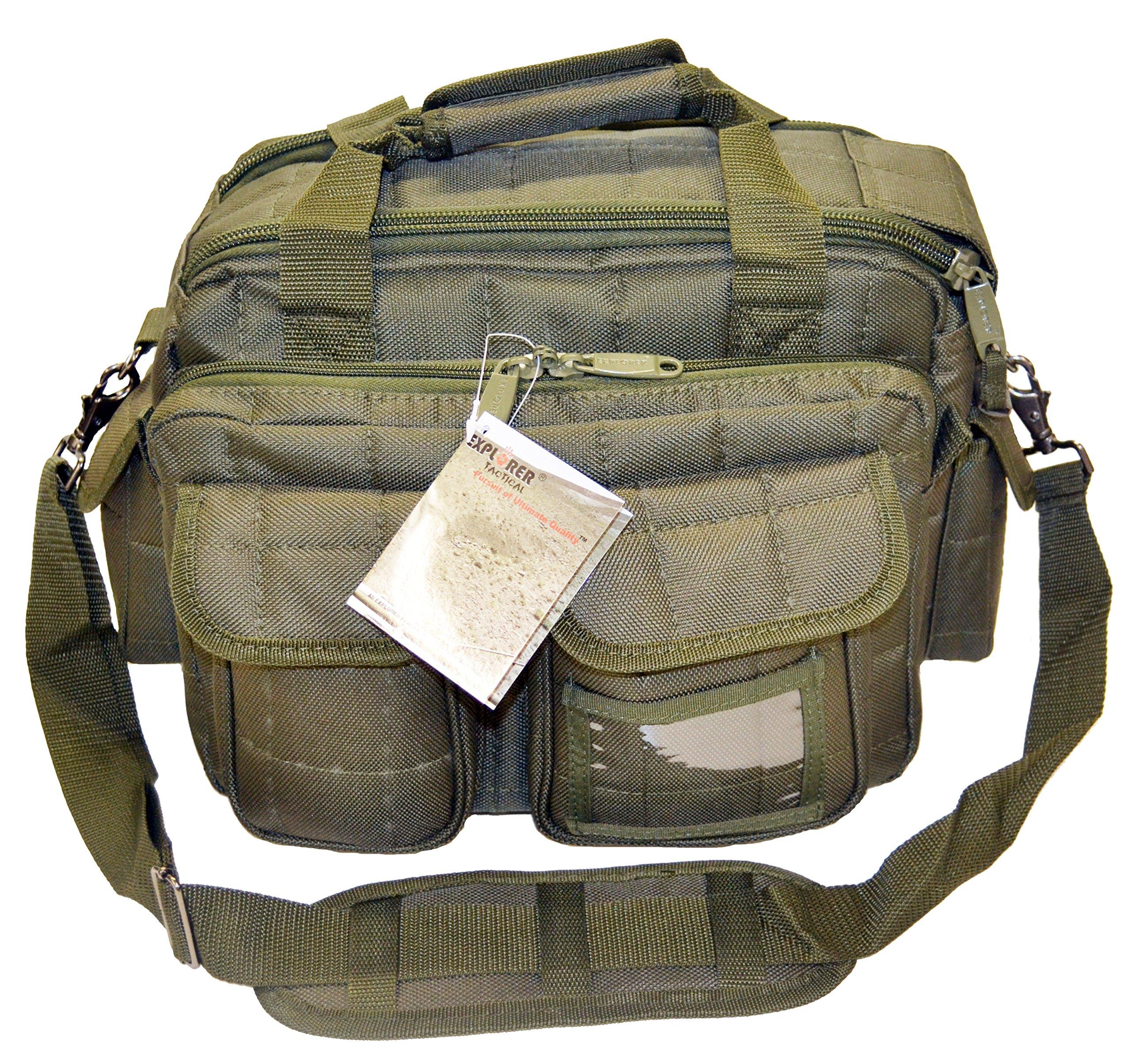 Explorer Tactical 12 Pistol Padded Gun and Gear Bag OD Green by Explorer
