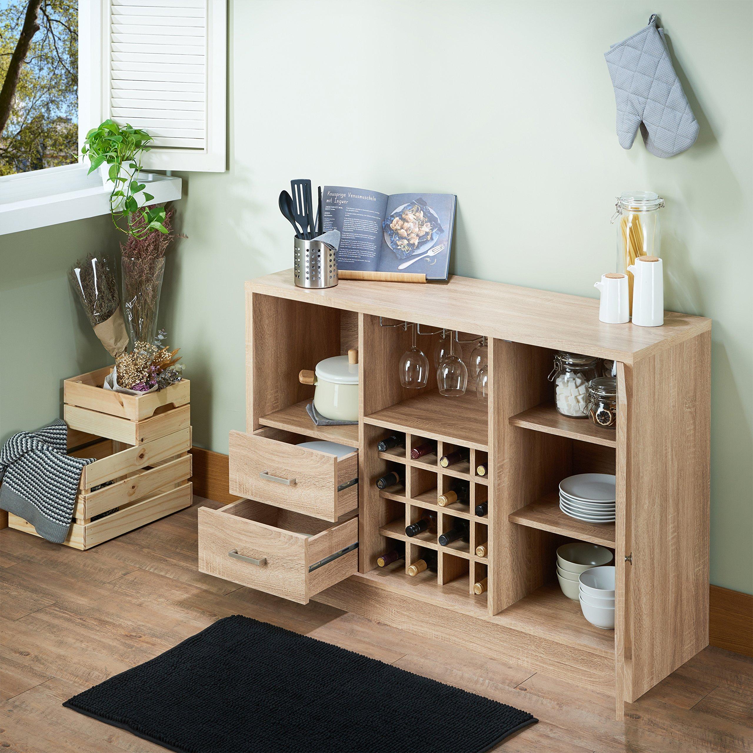 Acme Furniture 72635 Joice Rustic Oak Server by Acme Furniture (Image #7)
