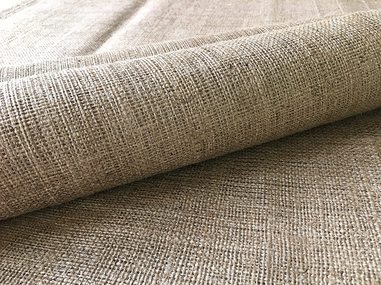 Burlapper Burlap Heavy-Weight 12 oz Garden Fabric (40 Inch x 15 Feet)