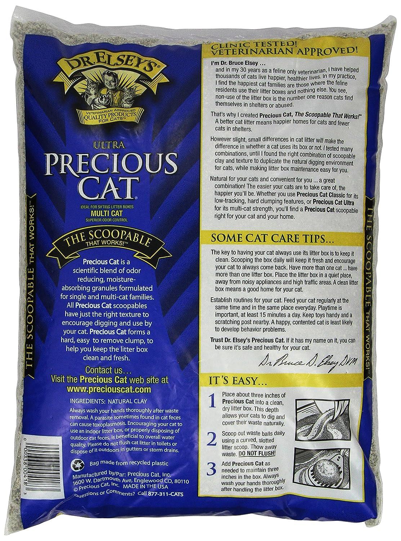 amazoncom dr elseyu0027s precious cat ultra cat litter 40 pound bag pet litter pet supplies - Cat Litter Reviews