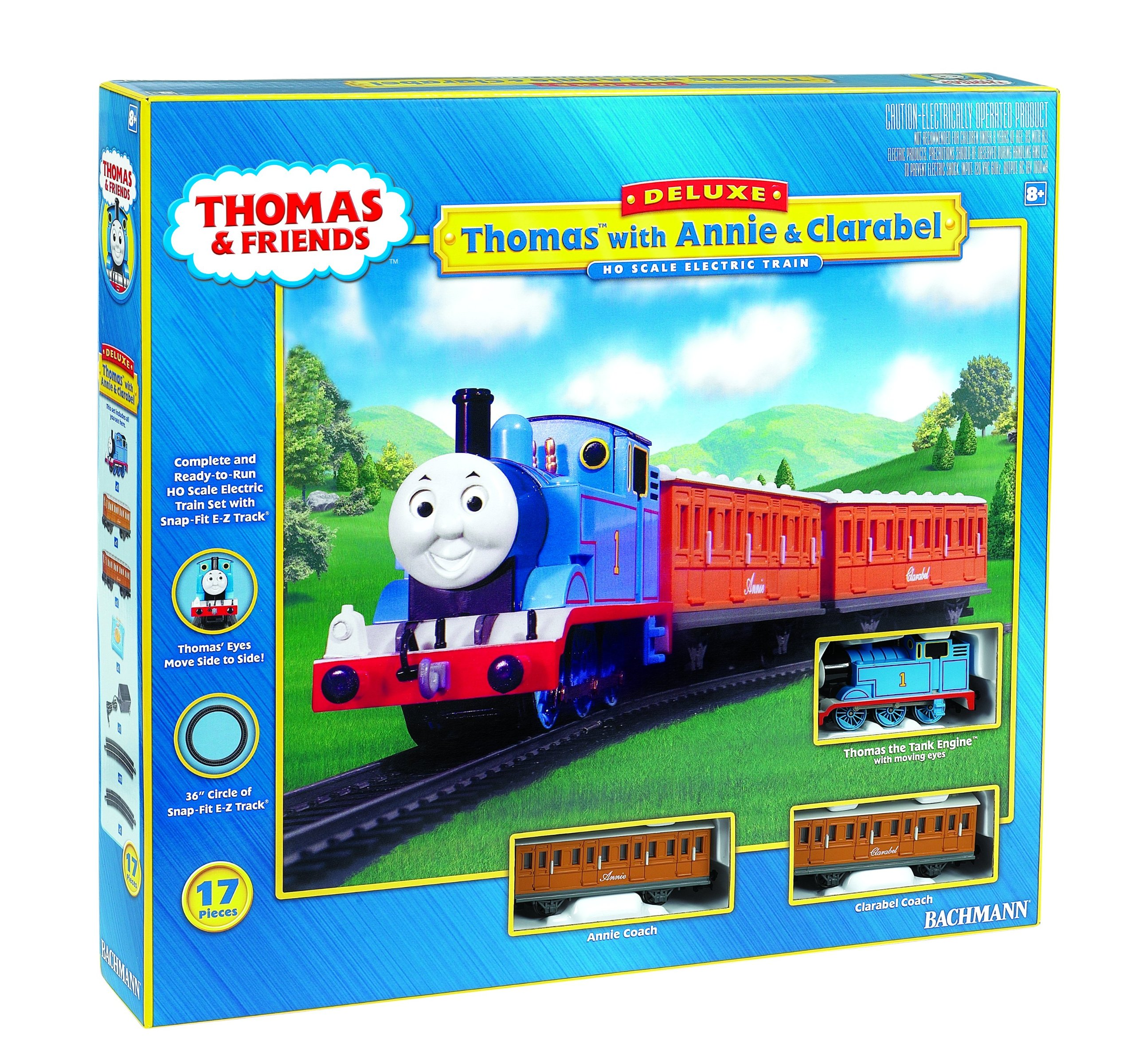 Bachmann Trains Thomas with Annie and Clarabel Ready-to-Run HO Scale Train Set by Bachmann Trains (Image #1)