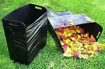 Great Bag Butler Set Of 2 Lawn And Leaf Trash Bag Holders