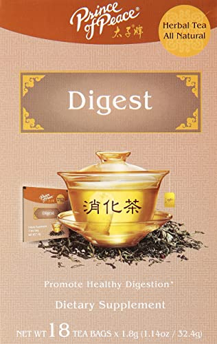PRINCE OF PEACE Digest Tea 18 Bag, 0.02 Pound