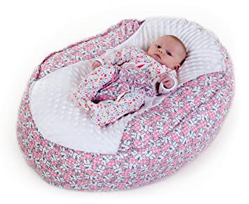 Baby Bean Bag Chair Pink Teddies