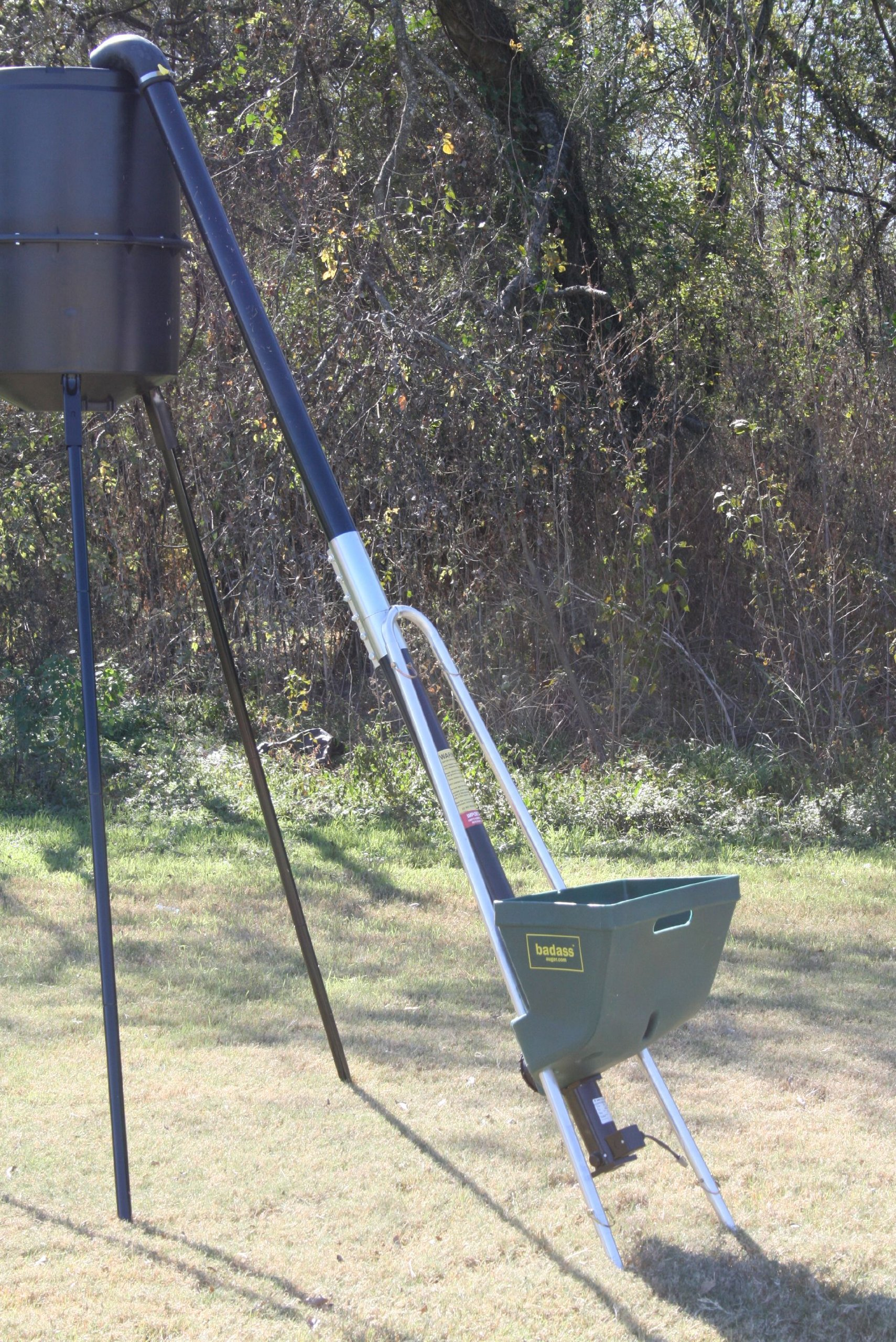 Deer Feeder Filler - Fill Feeders Without Breaking a Sweat....or Your Neck!