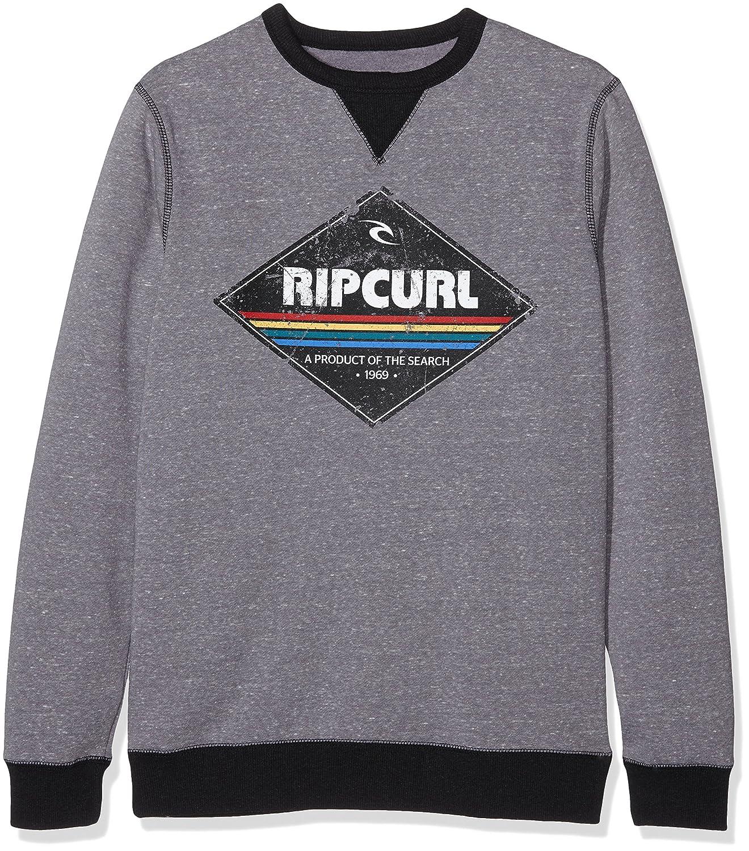 Rip Curl Diamond Crew - Sudadera para Hombre, Color Gris, Talla S RIPCURL CFENX4S 9032