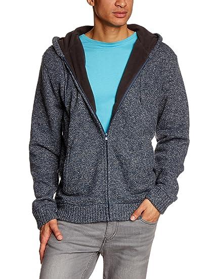 Quiksilver Zipper Carlsbad - Sudadera con capucha, color azul, talla XXL