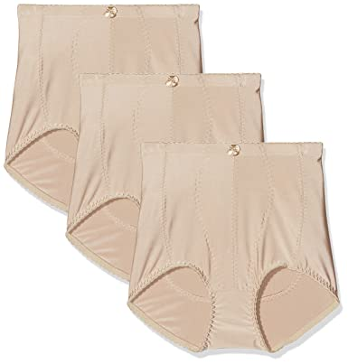 b08586e0b51e FM London Women's Tummy Tuck Bum Lift Girdle Control Knickers (Pack of 3):  Amazon.co.uk: Clothing