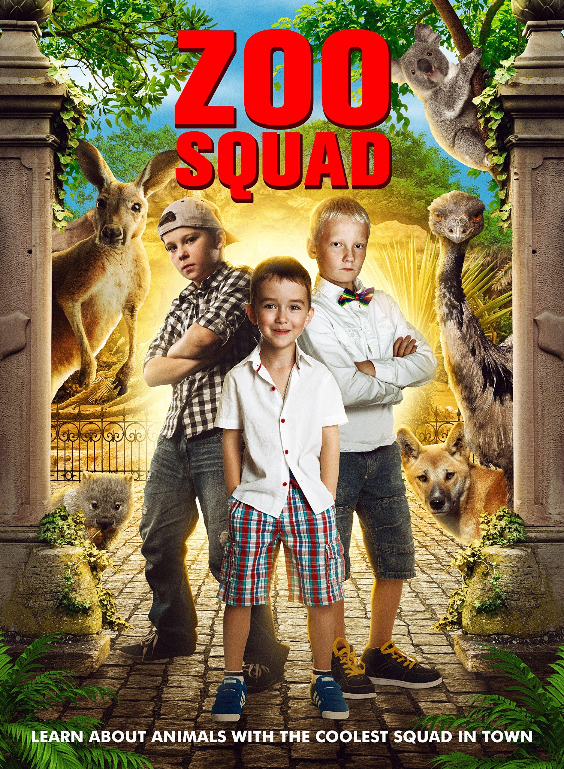 DVD : Zoo Squad (DVD)