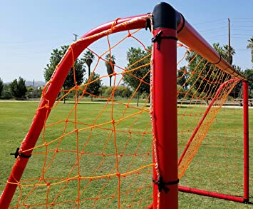 34e9820e6db Amazon.com   Vallerta Premier Portable 12 X 6 Ft. AYSO Youth Regulation  Size Soccer Goal w Weatherproof 4mm Net. 62MM Diameter Heavy Duty All  Weather PVC ...