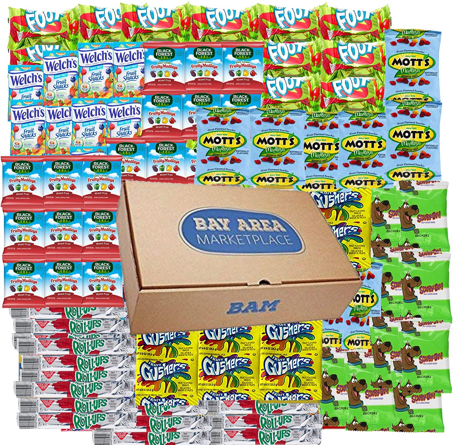 On The Go, Fruit Snacks Variety Pack, (56 Count)