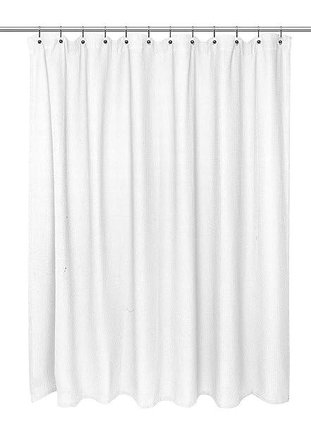 Amazon.com: Carnation Home Fashions Waffle Weave 100% Cotton Shower ...