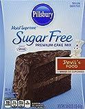 Pillsbury Moist Supreme Sugar Free Devil's Food Cake Mix (Pack of 2)