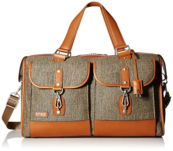 Hartmann Tweed Collection Legacy Duffel, Natural Tweed, One Size