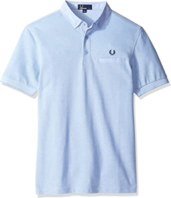 Fred Perry Polo Hombre M1575-146C Azul Claro - XL: Amazon.es ...