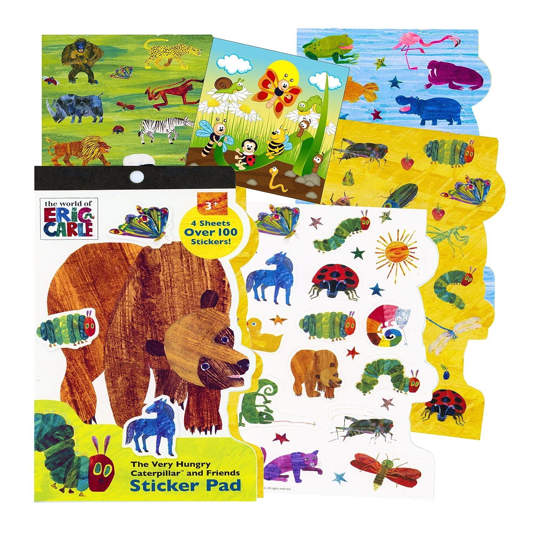 Amazon com eric carle sticker set toys games