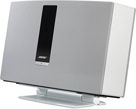 SoundXtra SDXBST30DS1011 Soporte de Altavoz Mesa Aluminio Blanco ...