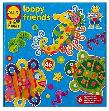 Alex Loopy Friends Juego De Manualidades Para Hacer Animales